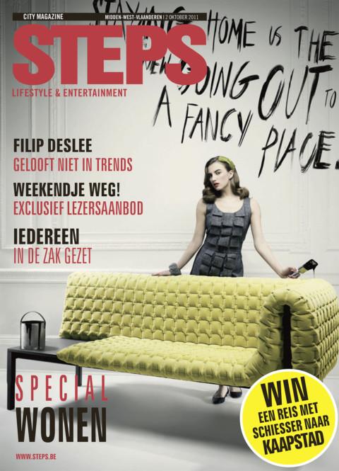 interview STEPS magazine