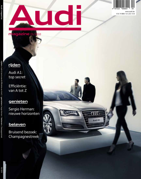 interview Audi magazine