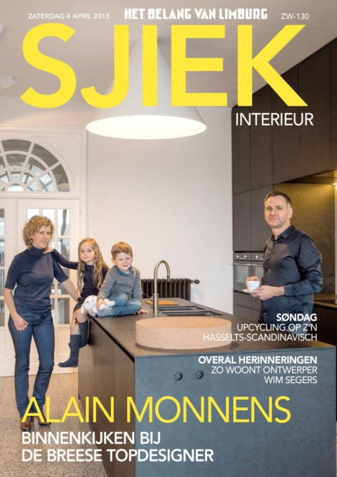 Our new home in SJIEK, weekend magazine of HBVL