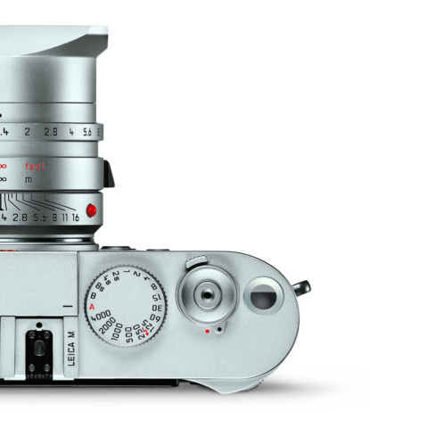 concept of the Leica M with battery indicator